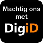 Button Machtiging DigiD